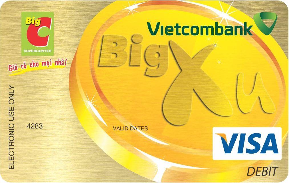 LP Vietcombank - BigC Visa Debit Card 2