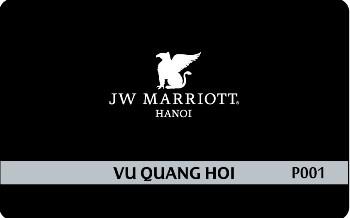 Mariott VIP card 3