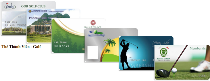 Thẻ thành viên - Golf_001