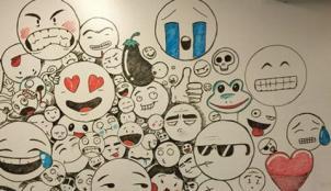 bảo mật tài khoản bằng emojiwall