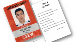 thẻ nhân viên Jetstar Pacific