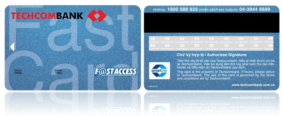 thẻ atm techcombank