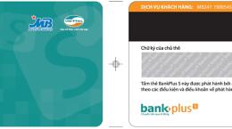 thẻ bankplus mastercard