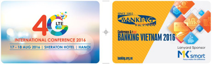 thẻ đeo hội thảo banking việt nam 2016