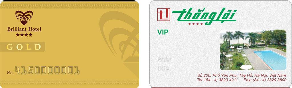 mẫu thẻ thành viên