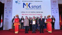 mk smart nhận giải 50 doanh nghiệp cntt việt nam 2016 - lê minh quốc