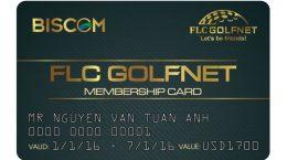 in thẻ thành viên flc golfnet