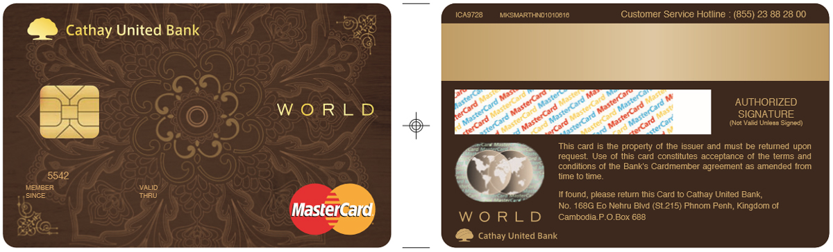 card cathay united campuchia