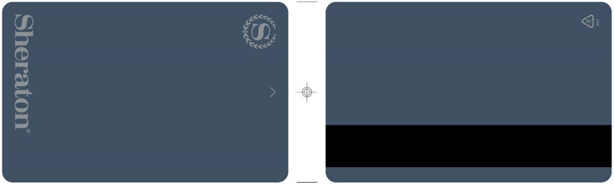 mẫu thẻ khóa khách sạn sheraton