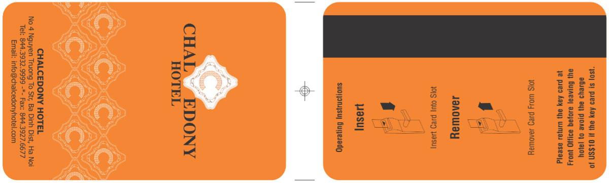 thẻ từ chìa khóa khách sạn chal edony