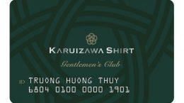 thẻ khách hàng Karuizawa Shirt