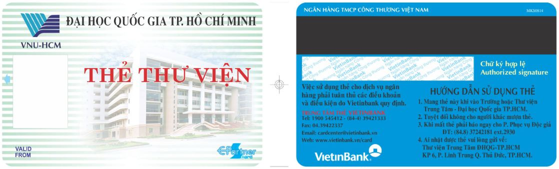 thẻ nhận diện kiểm soát vào ra thư viện trung tâm tp.hcm