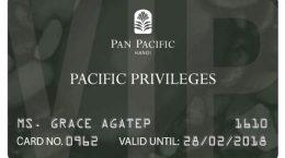 in thẻ thành viên cho pan pacific