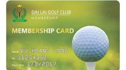 in thẻ membership đại lải