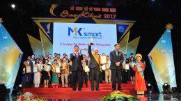 mksmart nhận sao khuê 2017