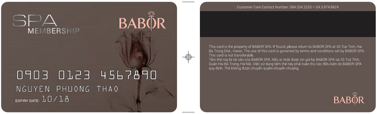 babor spa membership